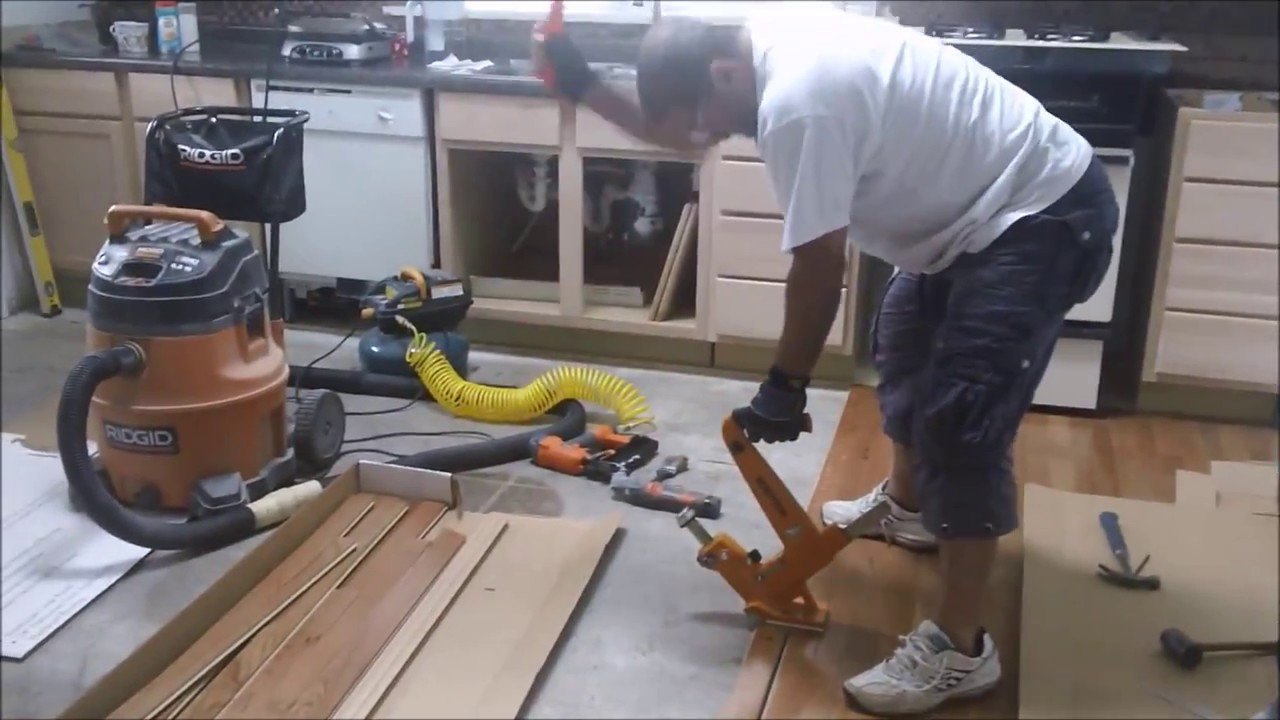 Manual Hardwood Flooring Cleat Nailer Dr Fixit Usa Best Diy Projects