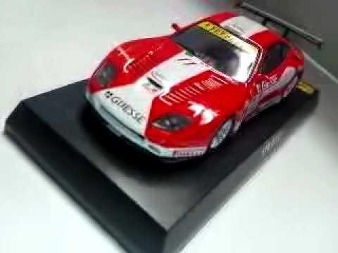 京商ミニカーコレクションのフェラーリの550マラネロ・550バルケッタピニンファリーナ・スーパーアメリカ・575GTCです。スケールは1/64です。