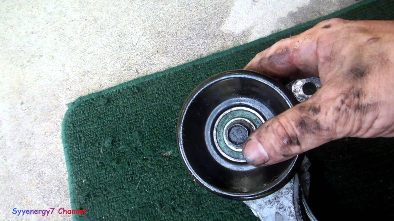chrysler sebring detail on serpentine belt adjuster [ 1280 x 720 Pixel ]