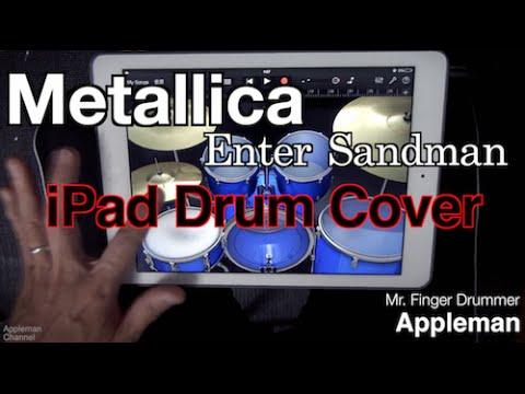 enter sandman drum music pdf