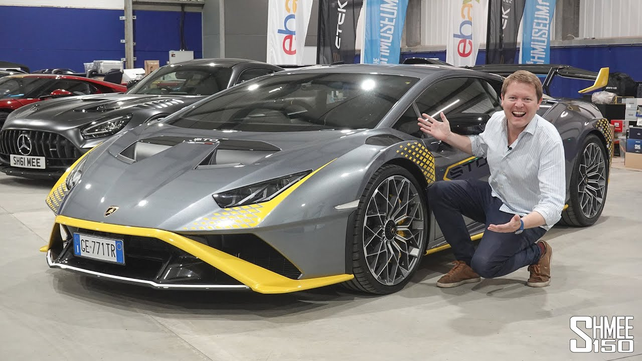 NEW Lamborghini Huracan STO Delivered at The Shmuseum! My First Drive