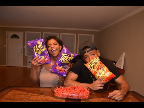 Download Youtube: HOT CHEETOS & TAKIS CHALLENGE