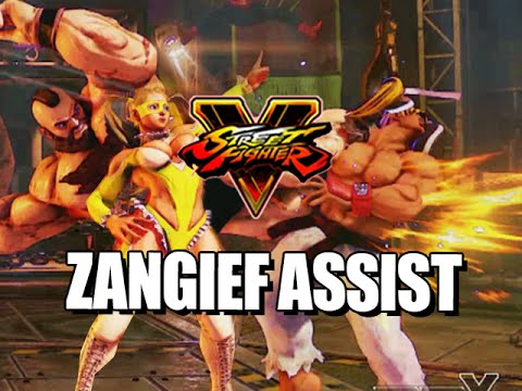 ZANGIEF ASSIST?! - Road to Platinum w/Mods! (Street Fighter V Ranked)