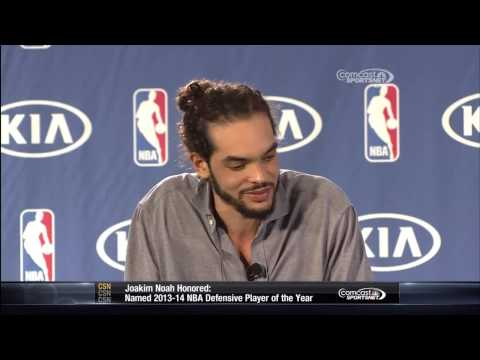 Joakim Noah Defensive Player of the Year Award Ceremony