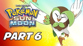 Pokémon Sun & Moon Walkthrough Part 6 - Verdant Cavern Trial (3DS Let's Play Gameplay)