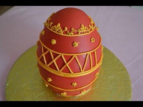 Fabregé Egg Cake | Birthday Cake | Easter Cake