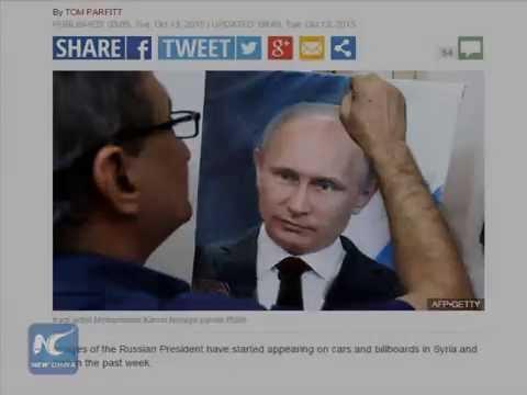 Russian strikes boosts a Putin craze in Mideast