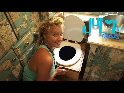COMPOSTING TOILET…it's not GROSS