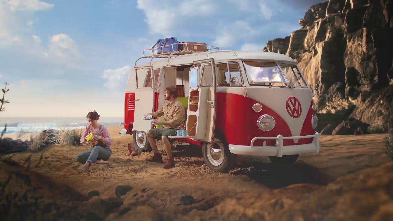 Volkswagen T1 Camping Bus | Spot | PLAYMOBIL Italiano