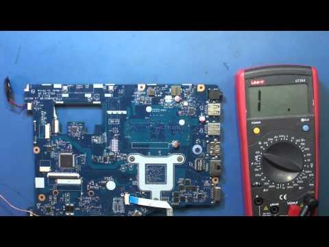 Ремонт ноутбука Lenovo G505 (LA-9911p). Не включается. Часть 1.