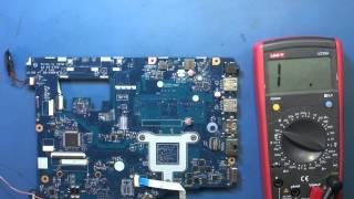 Ремонт ноутбука Lenovo g505 (LA-9911p). Не включается. Часть 1.(Ремонт ноутбука Lenovo g505 (LA-9911p) от нашего подписчика. Не включается после ошибочного подключения выхода усили..., 2015-05-24T17:09:13.000Z)