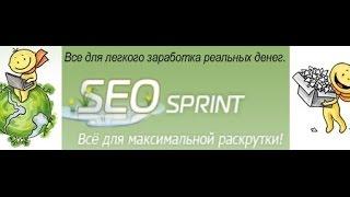 Заработать реальные деньги Seo Sprint   как я снап деньги