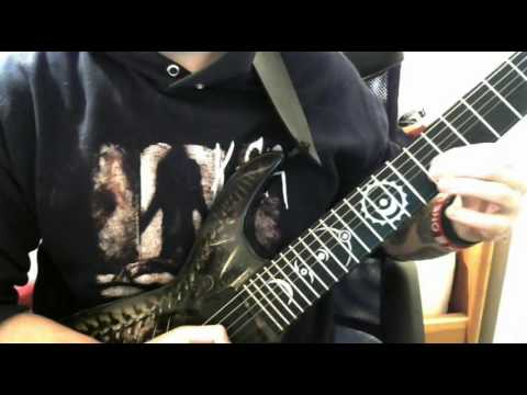 Nightwish - Alpenglow guitar solo cover