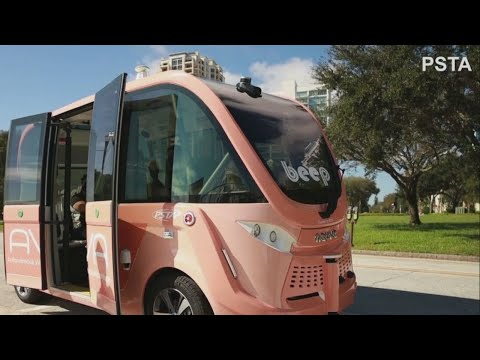 St. Petersburg and PSTA roll out autonomous vehicle pilot