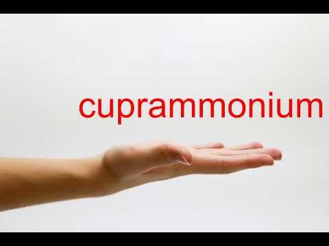 How to Pronounce cuprammonium - American English