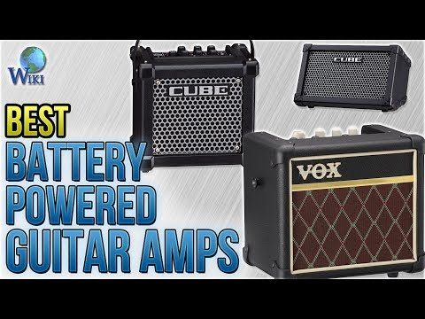 10 Best Battery Powered Guitar Amps 2018