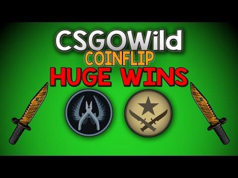 CSGO Wild Coinflip!   HUGE PROFIT!!! #2 (CS:GO Gambling)