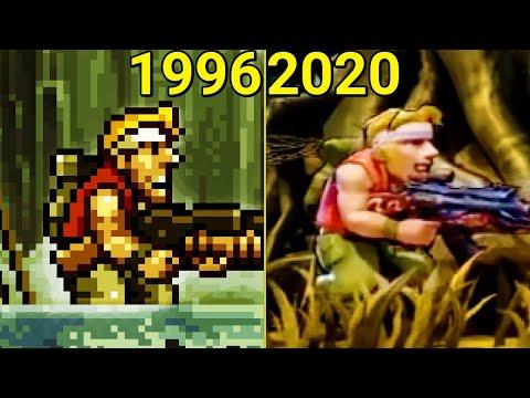 Evolution Of Metal Slug Games (1996-2020)