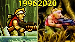 Evolution of Metal Slug Games (1996-2020)