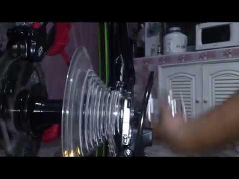 ตั้งเกียร์ปรับละเอียด Merida Speeder T3 2014