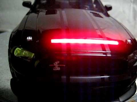 Kitt 3000 Shelby Mustang Gt 500 Kr 118 Led Knight Rider