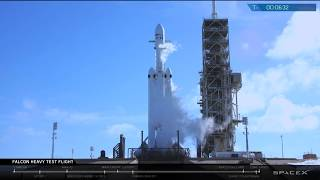 Webcast Replay of Falcon Heavy Demo Mission With Starman