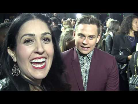 Popcorn Talk TV Game Night Hollywood Premiere Interview with Billy Magnussen