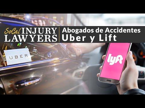 (800)550-0502 Abogados de Accidentes de Uber o Lyft Los Angeles, CA