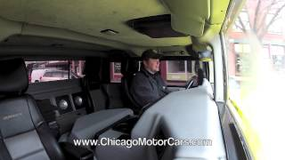 Hummer H1 4 Door Pickup - Chicago Motor Cars Video Test Drive Review with Chris Moran