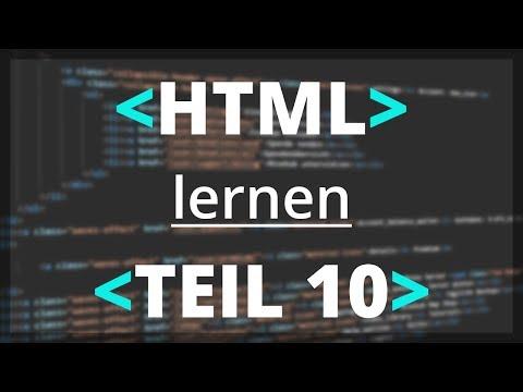 HTML Lernen - Bilder Einfügen | Teil 10 [deutsch]