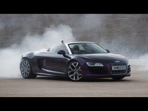 Audi R8 drift | Doovi
