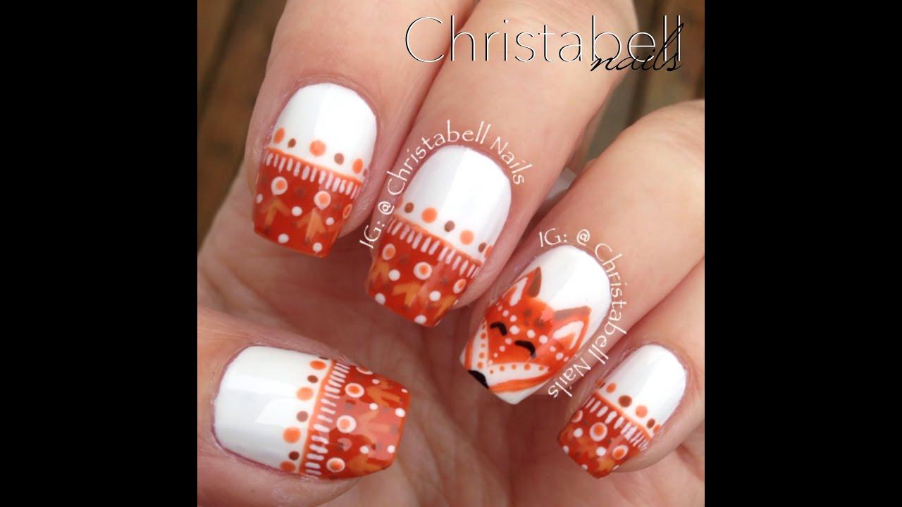 ChristabellNails Fox Nails Tutorial - YouTube