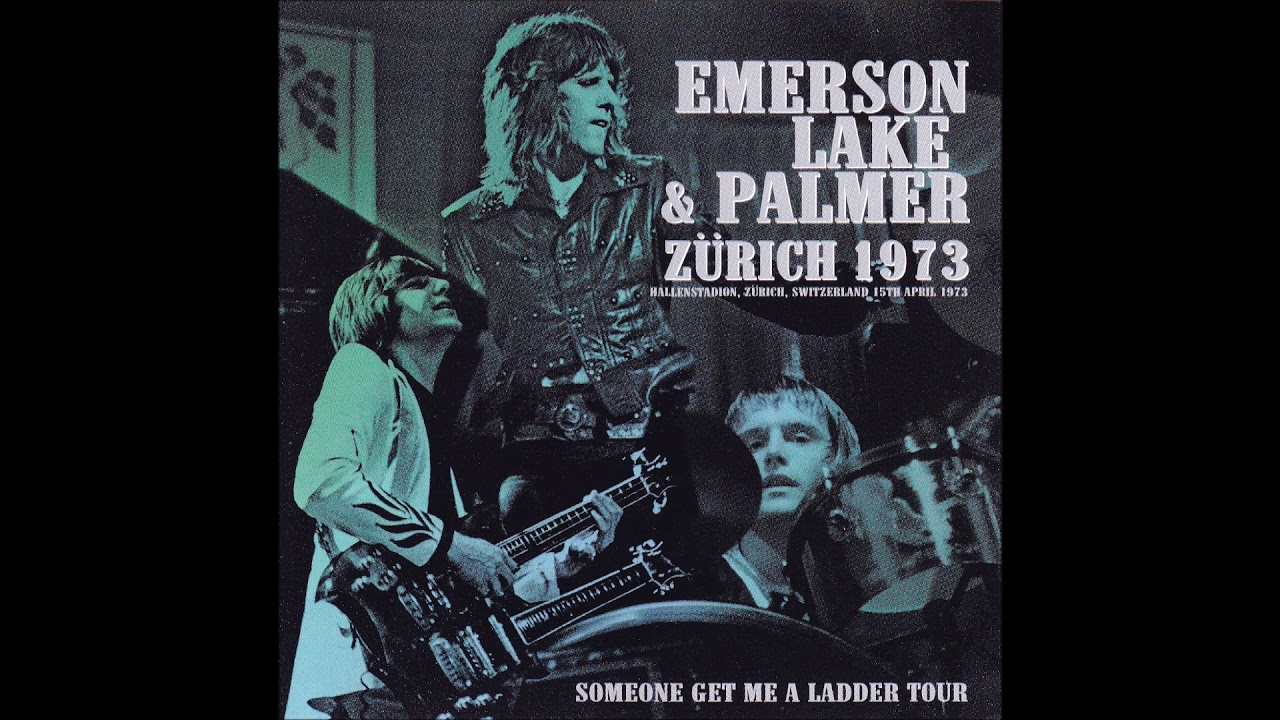 Emerson, Lake & Palmer (ELP) Live in Zurich, Switzerland 4/15/1973