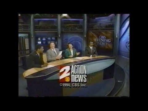 KCBS - CBS 2 Los Angeles - News Open & Close (1991-1997)
