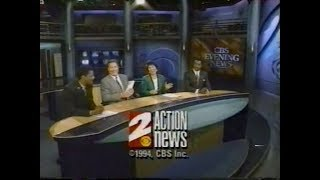 KCBS - CBS 2 Los Angeles - News Open & Close (1991-1997)