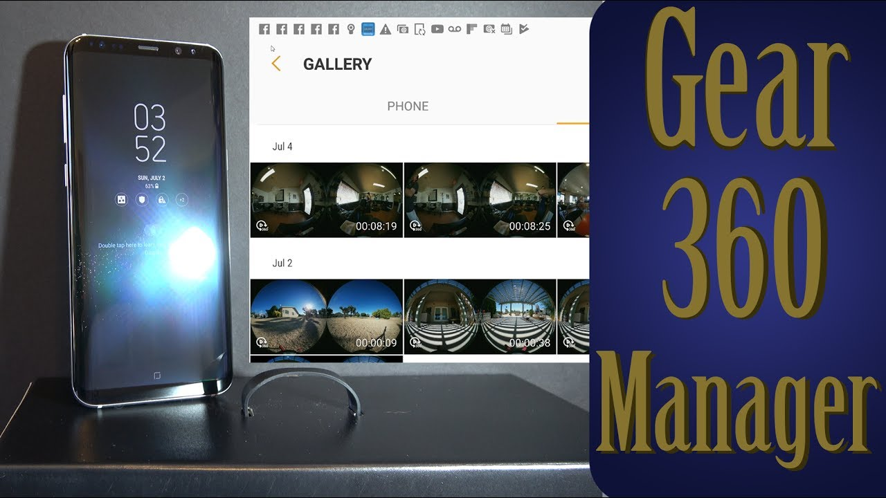 Gear 360 Manager
