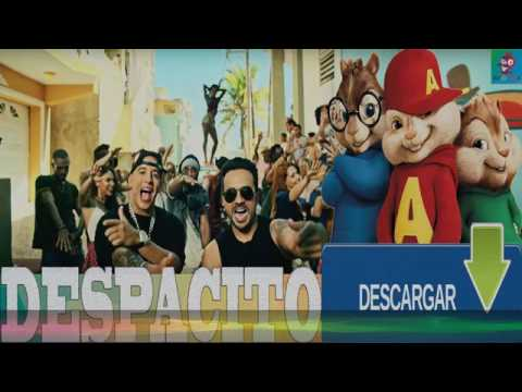 Despacito Luis Fonsi ft Daddy Yankee (Chipmunks Version) By CMP