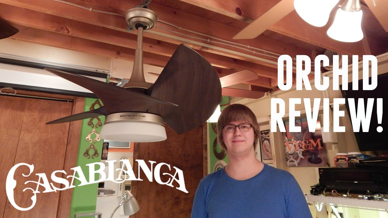 Product review casablanca orchid ceiling fan youtube mozeypictures Image collections