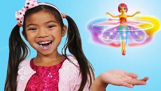 艾玛假装玩飞天小仙女玩具 Emma Flying Fairy CH