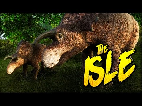 NEW ADORABLE DINOSAUR, CERATOPSID HERD AND MODS! NEW MAP! | The Isle