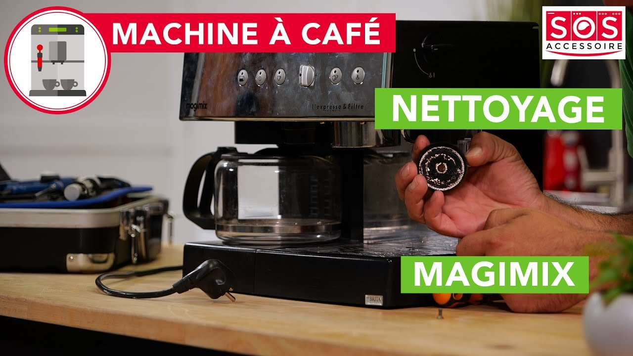 comment nettoyer ma machine a cafe magimix 11406