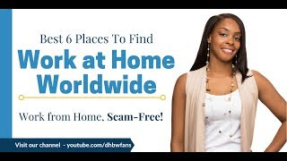 6 International Companies Offering Work at Home Jobs
