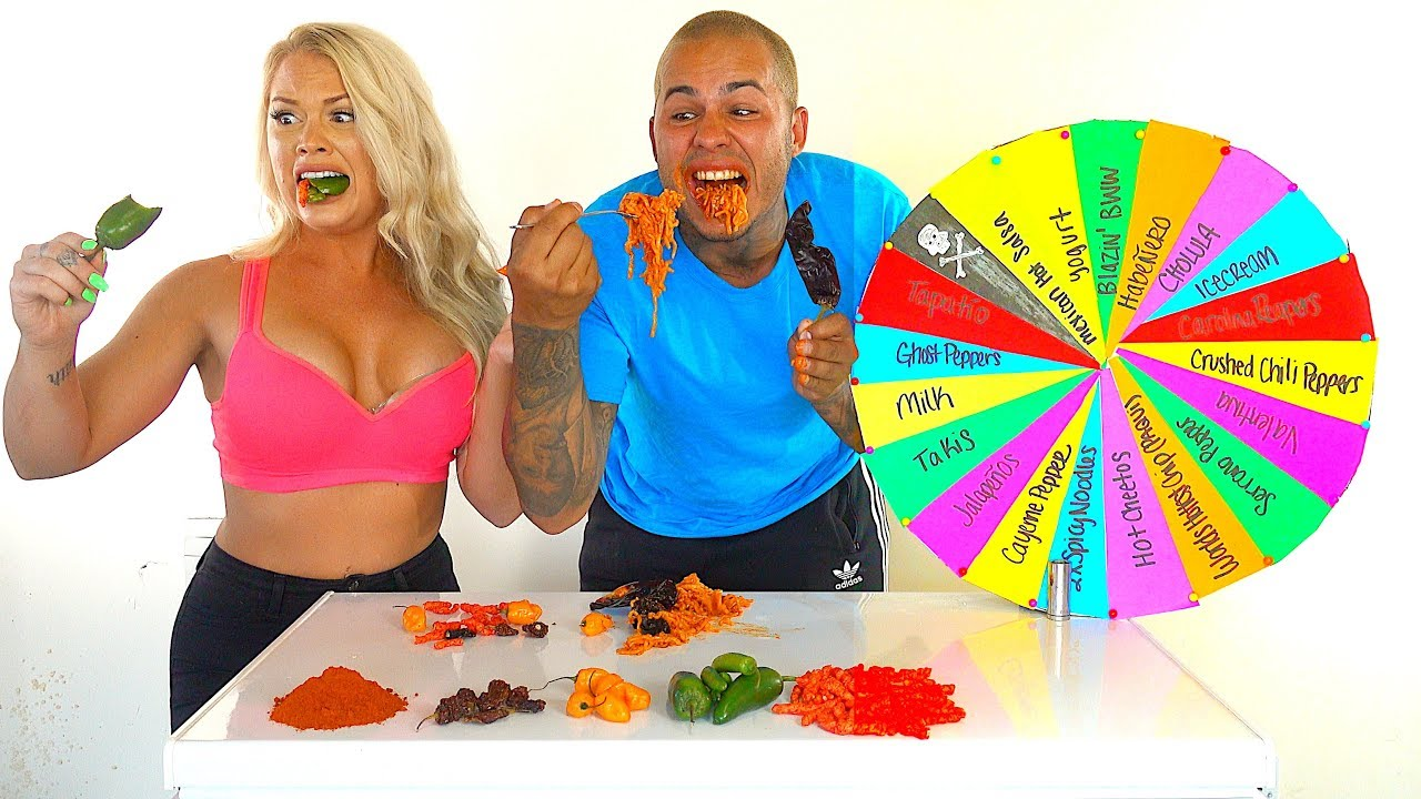 mystery-wheel-of-world-s-hottest-peppers-challenge-ghost-peppers-carolina-reapers-hot-cheetos