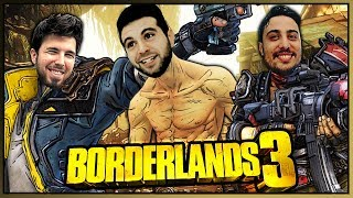 JUNTOS EN BORDERLANDS 3 (Fargan, Willy y Vegetta777)