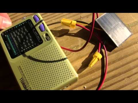 DIY Solar Powered Radio