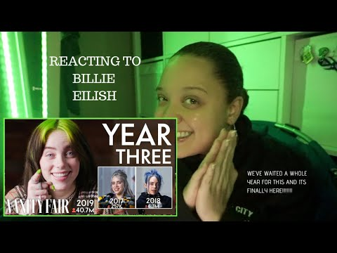 Billie Eilish: Same Interview, Third Year | VANITY FAIR | Reaction!