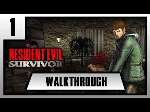 [FR][Walkthrough] Resident Evil Survivor - Chapitre 1.
