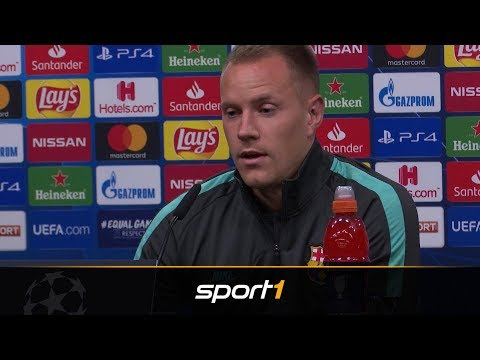 Hier legt Marc-Andre ter Stegen gegen Manuel Neuer nach | SPORT1