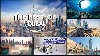 Dubai Uae Best Things To See In One Day. From Dxb Airport Use Easy Dubai Metro To Dubai Downtown