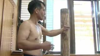 Repeat youtube video Uechi-ryu karate. Katsuji Tamayose 3/3